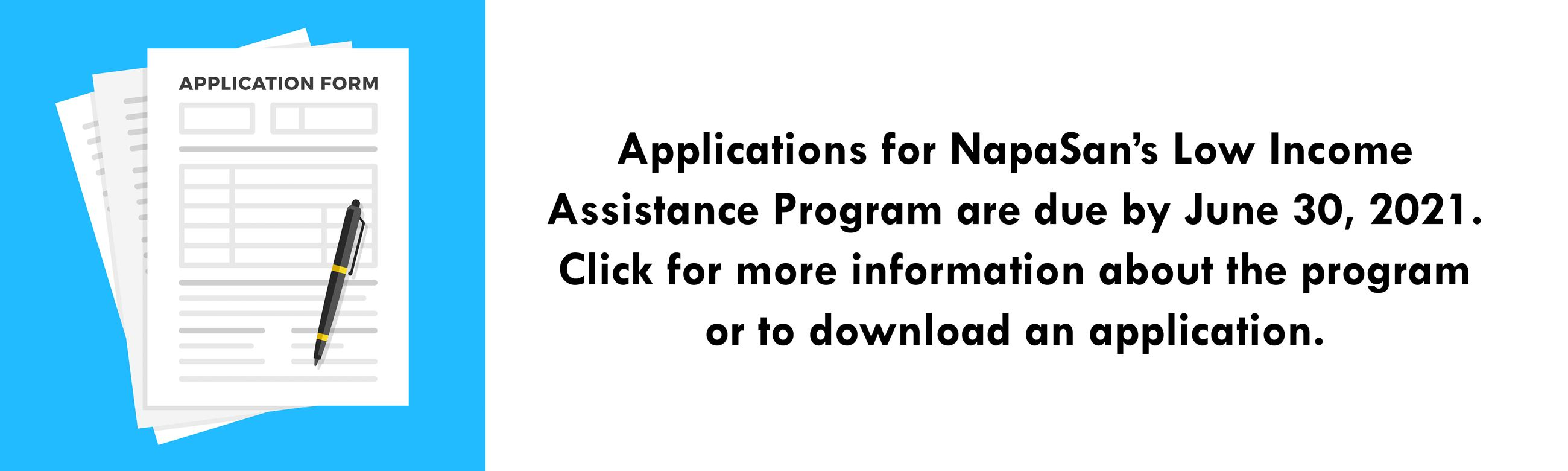 Click for more information about NapaSan's low income assistance program